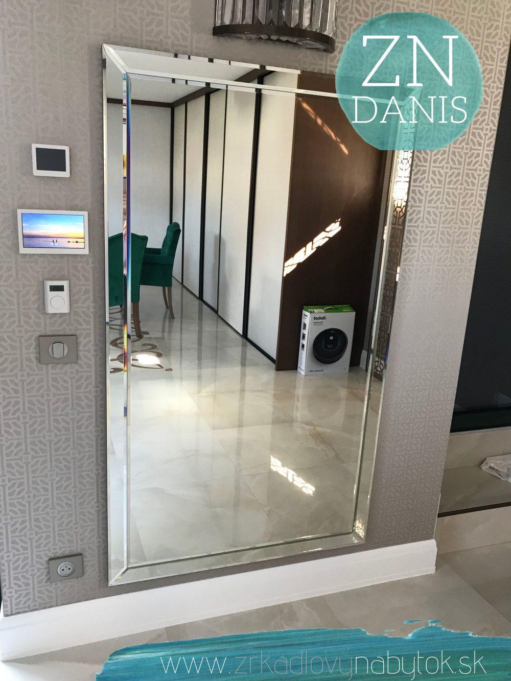 luxusné zrkadlo