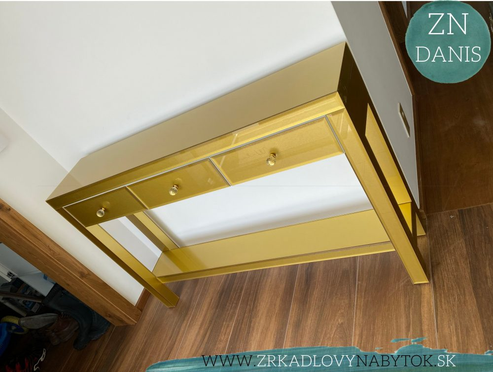 konzolový stolík GOLDY