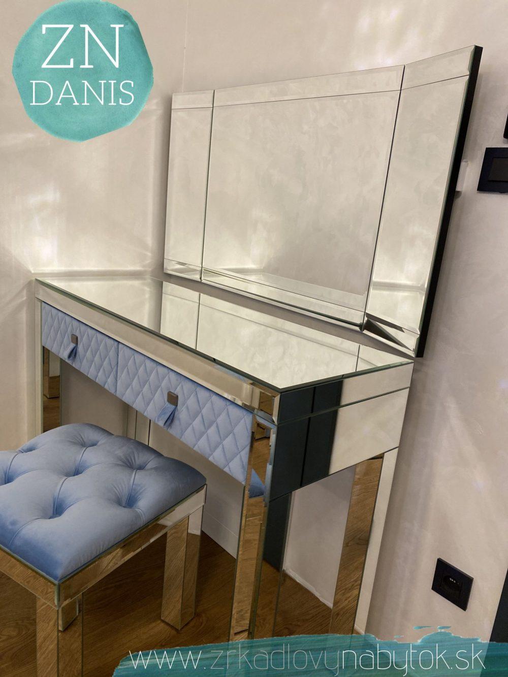 toaletný stolík BABY BLUE