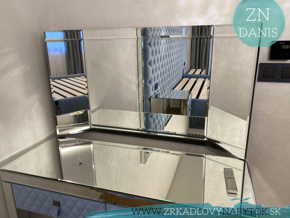 zrkadlo nad toaletný stolík